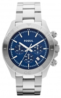 Buy Fossil Retro Traveller Mens Blue Chronograph Watch - CH2849 online