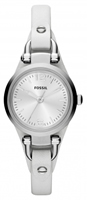 Buy Fossil Georgia Ladies White Leather Watch - ES3267 online