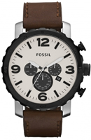 Buy Fossil Nate Mens Chronograph Watch - JR1390 online