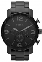 Buy Fossil Nate Mens Ion-plated Watch - JR1401 online