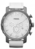 Buy Fossil Nate Mens Chronograph Watch - JR1423 online