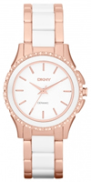 Buy DKNY Ceramix Ladies Stone Set Watch - NY8821 online