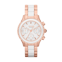 Buy DKNY Ceramix Ladies Chronograph Watch - NY8825 online
