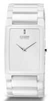 Buy Citizen Stiletto Blade Unisex Ceramic Watch - AR3040-56A online