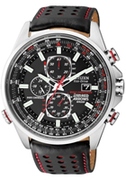 Buy Citizen Red Arrows World Mens Leather Watch - AT8060-09E online