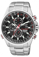 Buy Citizen Red Arrows World Mens Stainless Steel Watch - AT8060-50E online