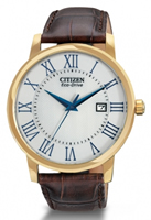 Buy Citizen Eco Drive Mens Gold-plated Watch - BM6752-02A online