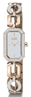 Buy Citizen Silhouette Crystal Ladies Rose Gold-plated Watch - EG2763-58A online