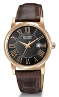 Buy Citizen Eco-Drive Ladies Rose Gold-plated Watch - EW1569-01E online