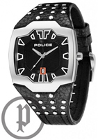 Buy Police Beast Mens Studded Leather Watch - PLC13634JS-02 online