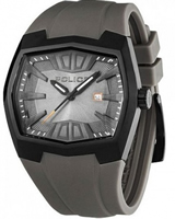 Buy Police Axis Mens Grey Rubber Watch - PLC13834JSB-13 online