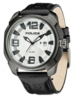 Buy Police Texas Mens Leather Watch - PLC13836JSU-04 online