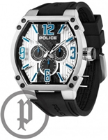Buy Police Cobra Mens Day-Date Display Watch - PLC13845JS-02A online