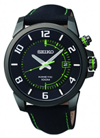 Buy Seiko Mens Kinetic Leather Watch - SKA557P1 online
