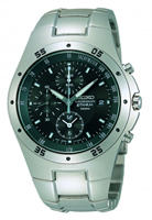 Buy Seiko Mens Titanium Tachymeter Watch - SND419P1 online