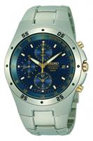 Buy Seiko Mens Titanium Tachymeter Watch - SND449P1 online