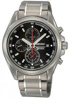 Buy Seiko Mens Titanium Tachymeter Watch - SNDC93P1 online