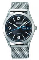 Buy Seiko Solar Mens Steel Mesh Watch - SNE233P9 online