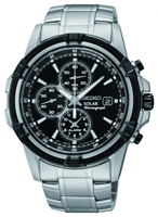 Buy Seiko Solar Mens Chronograph Watch - SSC147P1 online