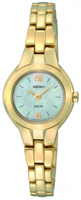 Buy Seiko Solar Ladies Gold-plated Watch - SUP026P1 online