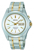 Buy Seiko Kinetic Mens Date Display Two-tone Watch - SMY085P1 online