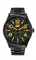 Buy CAT Camden 48MM Mens Black Steel Watch - NI.169.12.137 online