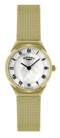 Buy Rotary Ladies Gold-plated Mesh Watch - LB02612-41 online