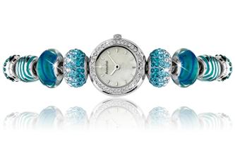Buy Accurist Charmed by Accurist Ladies Swarovski Crystals Watch - LB1410 online