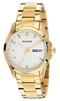 Buy Accurist Fashion Mens Day-Date Display Watch - MB985W online
