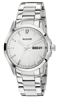 Buy Accurist Fashion Mens Day-Date Display Watch - MB987W online