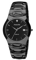 Buy Accurist Ceramic Mens Swarovski Crystals Watch - MB992S online