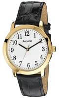 Buy Accurist Fashion Mens Leather Watch - MS673WA online