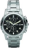 Buy Fossil Dean Mens Chronograph Watch - FS4542 online