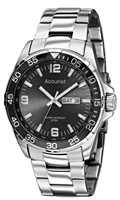 Buy Accurist Fashion Mens Day-Date Display Watch - MB1006B online