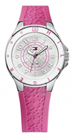 Buy Tommy Hilfiger Carley Ladies Pink Silicone Watch - 1781272 online