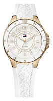 Buy Tommy Hilfiger Carley Ladies White Silicone Watch - 1781275 online