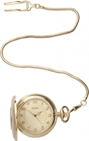 Buy Sekonda Mens Classic Gold PVD Pocket Watch - 3469 online