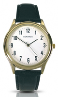 Buy Sekonda Mens Classic Leather Strap Watch - 3623 online