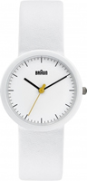 Buy Braun Classic Ladies Leather Strap Watch - BN0021WHWHWHL online