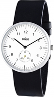 Buy Braun Classic Mens Seconds Sub Dial Watch - BN0024WHBKG online
