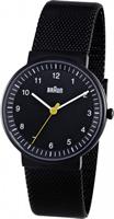 Buy Braun Classic Ladies Mesh Strap Watch - BN0031BKBKMHL online
