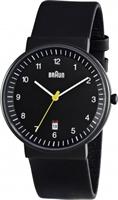 Buy Braun Classic Mens Date Display Watch - BN0032BKBKG online