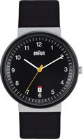 Buy Braun Classic Mens Date Display Watch - BN0032BKSLBKG online