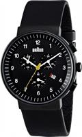 Buy Braun Classic Mens Chronograph Watch - BN0035BKBKG online