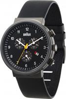 Buy Braun Classic Mens Chronograph Watch - BN0035BKGNBKG online