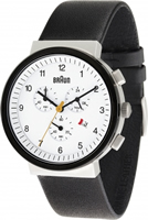 Buy Braun Classic Mens Chronograph Watch - BN0035WHSLBKG online