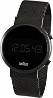 Buy Braun Digital Mens Radio Controlled Watch - BN0036BKBKMHG online