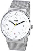 Buy Braun Classic Mens Date Display Mesh Watch - BN0082WHSLMHG online