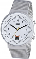 Buy Braun Classic Mens Radio Controlled Watch - BN0087WHSLMHG online