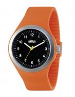 Buy Braun Sports Mens Silicone Strap Watch - BN0111BKORG online
